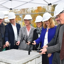 Laying of the foundation stone ZAQuant