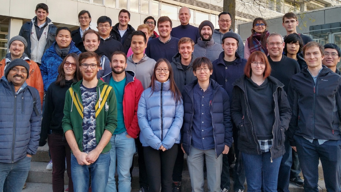 Institute: Science and teaching at the institute comprises solid state quantum optics and spintronics with applications in modern microscopy and metrology applications