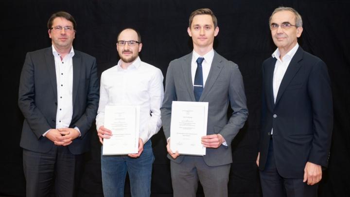 Dr.-Ing. Stephan Wilhelm, Dr. Sebastian Scholz, Dr. Roland Nagy,  Richard Geitner