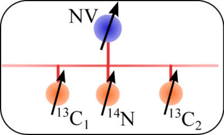 Solid-State Quantum Register (c)